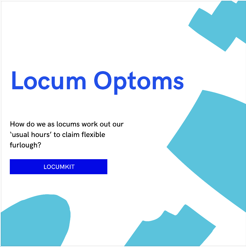 Flexi furlough as a locum